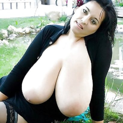 Dark haired Saggy Boobs