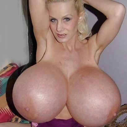 Incredible Giant tits