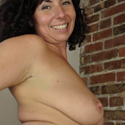 Just a Milf with Saggy Boobs