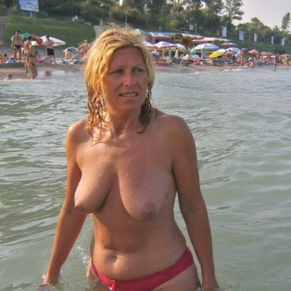Just boobs in the ocean