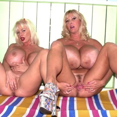 Lesbians beautiful breasts