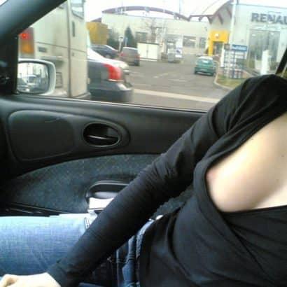 Nipslip girl