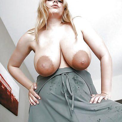 Some damn huge nipples