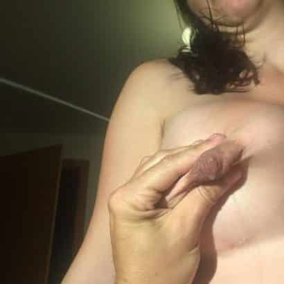 Squeeze Nipple Milky Boobs