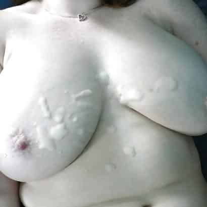 You want Cum on tits