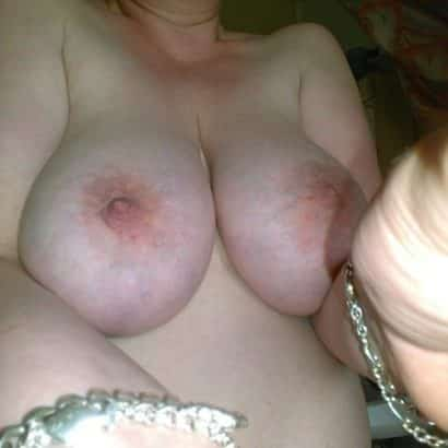 beautiful breasts selfie