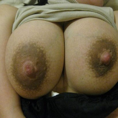 huge brown nipples