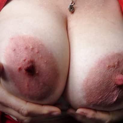 huge nipples in pink