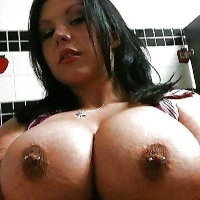 huge nipples with piercings