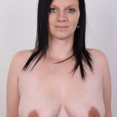 small breast and weird nipples