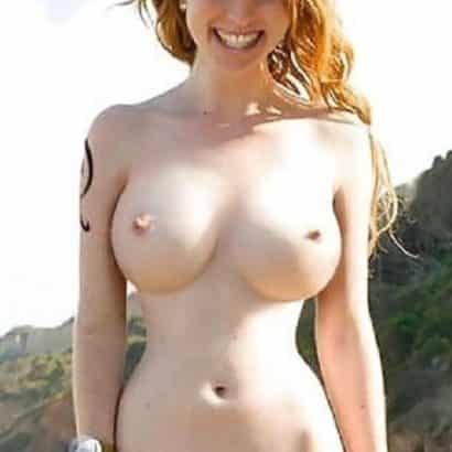 small breast redhair