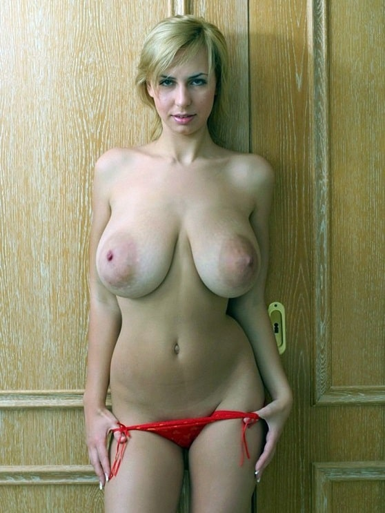 Huge hanging boobs
