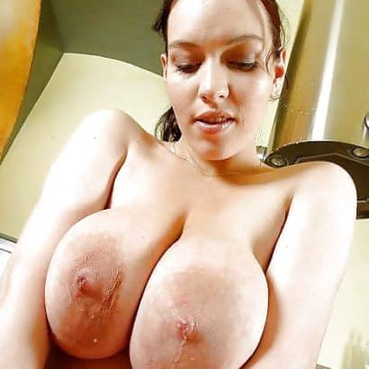 Wet Large areolas