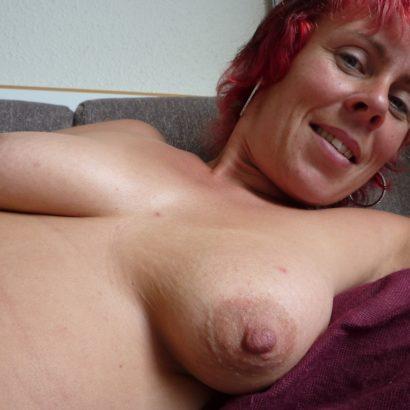 redhead Natural Breasts
