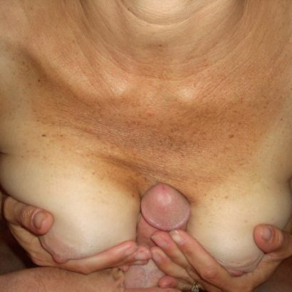 Old Girl tittyfucking