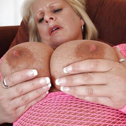 Granny Dark Nipples