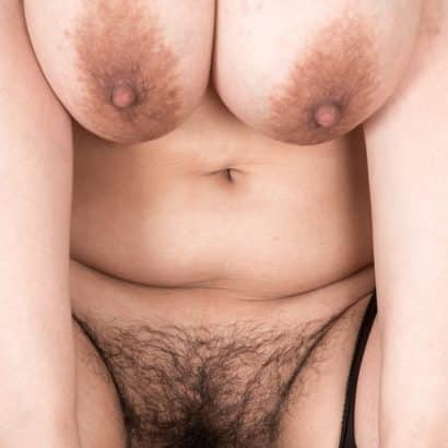 Nice boobs and hairy bush
