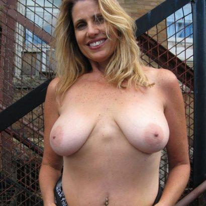 Horny saggy mature