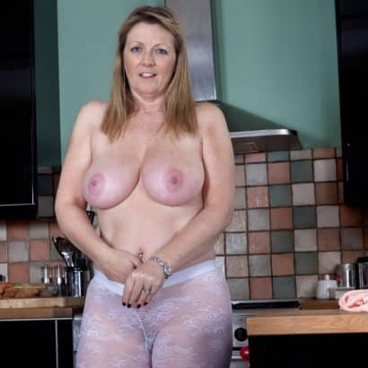 big boobies in the Kitchen