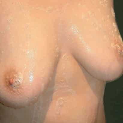 Just boobs are soaped