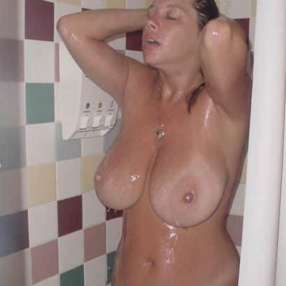Just boobs in the Shower
