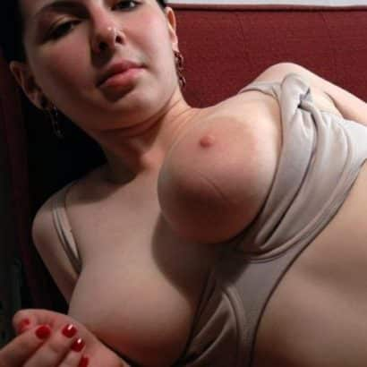 White girl with Giant tits