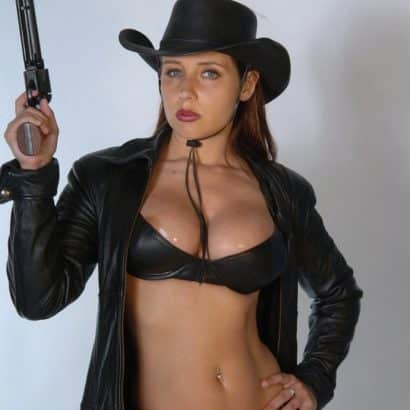 Boob Slip western girl