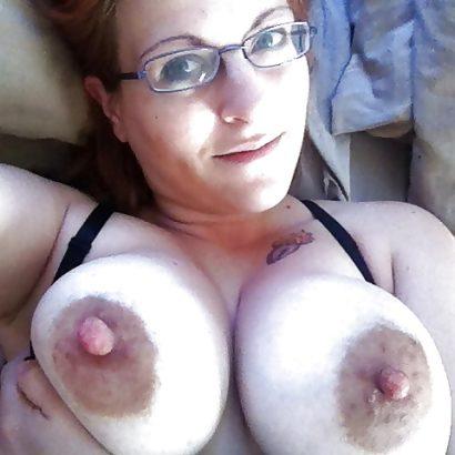 big areolas with huge Nipples