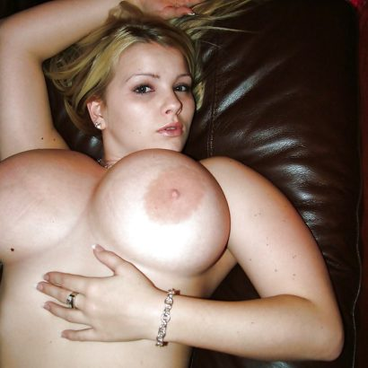 Blonde Large areolas