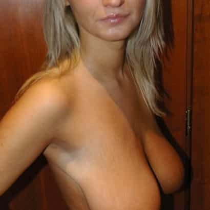 Blonde Natural Breasts