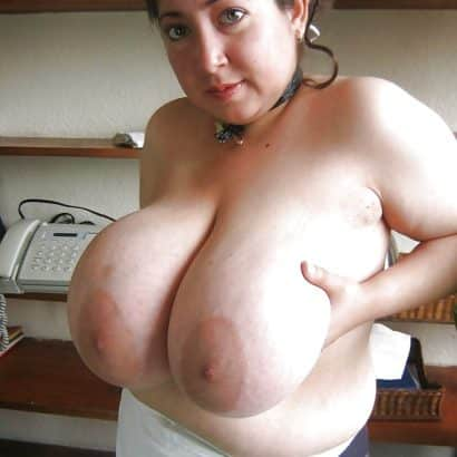 Large areolas maid