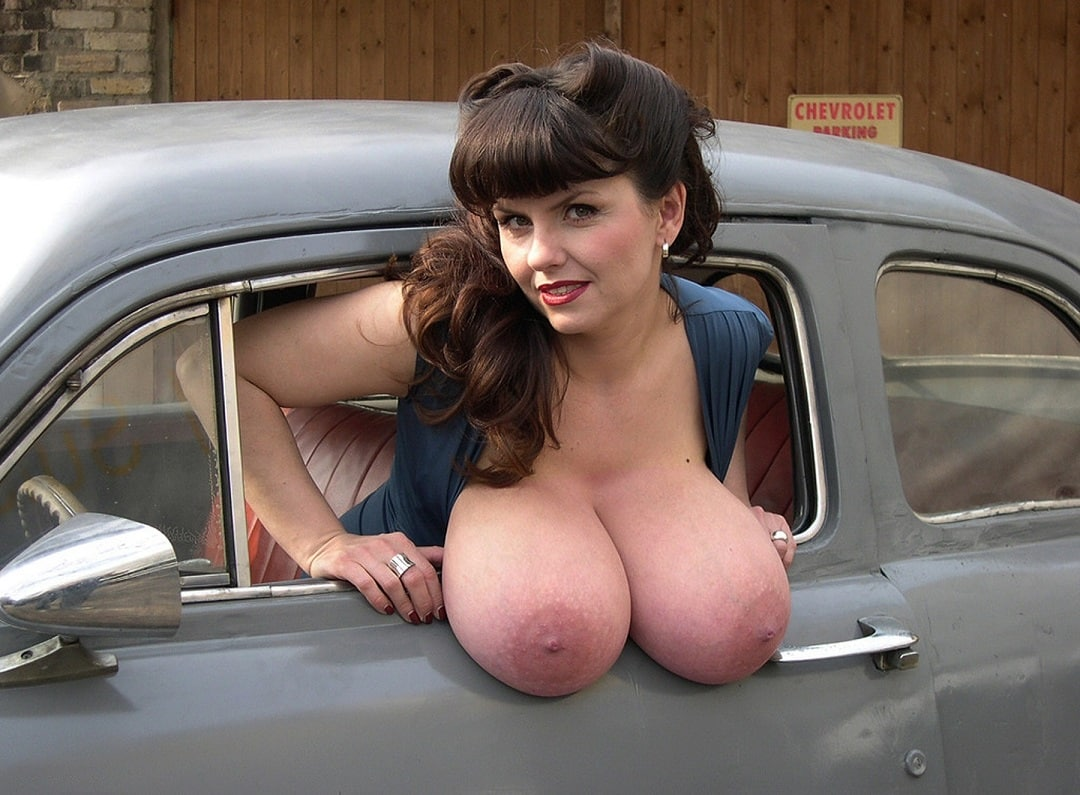 Hung from tits