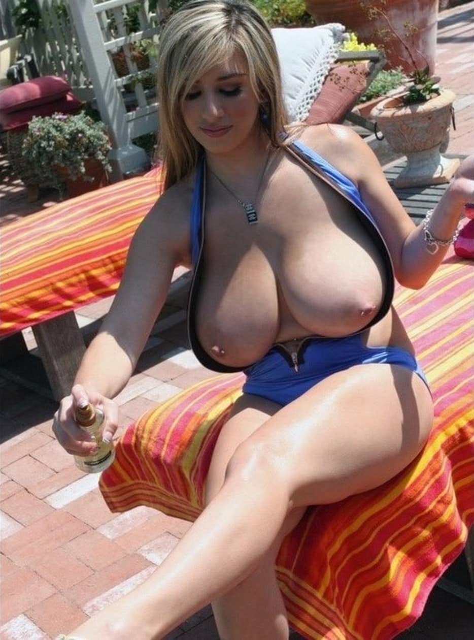 Big boobs popping out