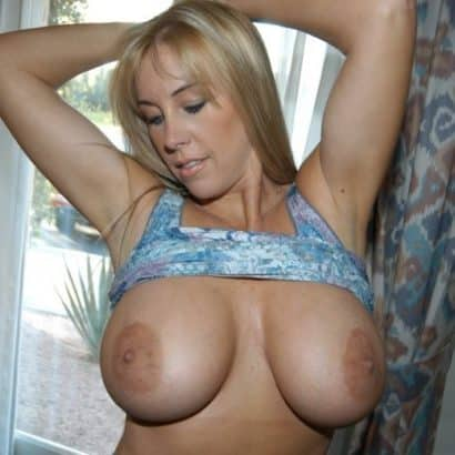 Blonde Milf Super tits
