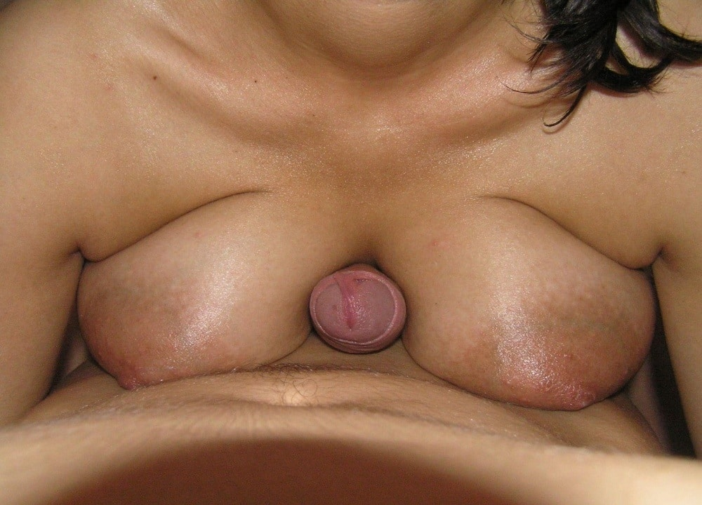 Dick between tits pics 10
