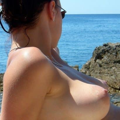 Beach Small Boobs