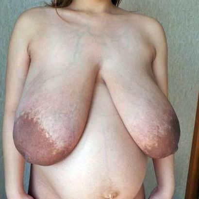 Massive big floppy boobs