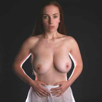 Teen with huge boobs getting nude
