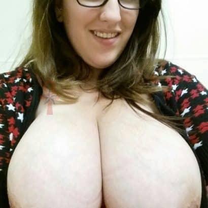 Teen with huge boobs nipple piercing