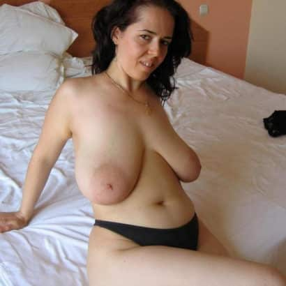 Busty saggy mature