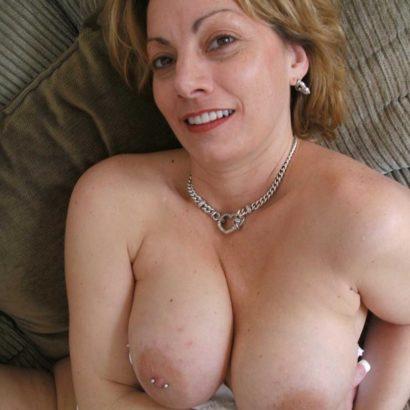 Moms pierced nipples