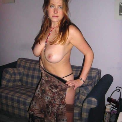 Teen Boobs on her Couch