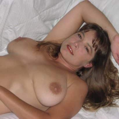 Teen Boobs on her bed