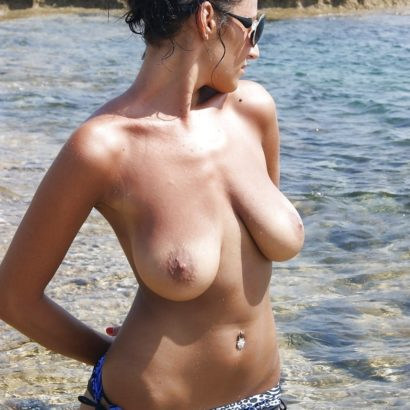 best boobs ath the beach